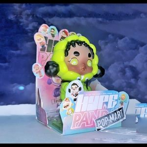 Pop mart   fashion art toy   street hiphop singer
